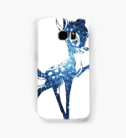 Space Bambi | Blue Cluster Galaxy Samsung Galaxy Case/Skin