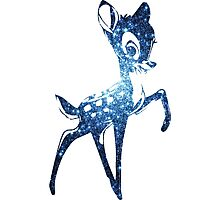 Space Bambi | Blue Cluster Galaxy Photographic Print