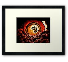 The Hole Between Heaven and Hell  Framed Print