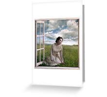 Helplessly Hoping Greeting Card