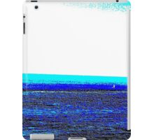 Landscape blue white ing iPad Case/Skin