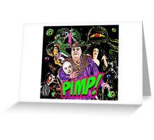 PIMP JOHNSON Greeting Card