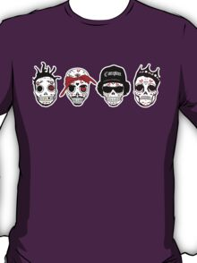RIP MC's - Gangsta Rapper Sugar Skulls T-Shirt