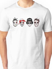 RIP MCs - Gangsta Rapper Sugar Skulls Unisex T-Shirt