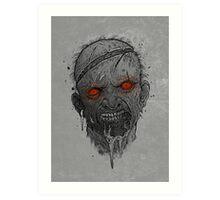 The Undead Man Art Print