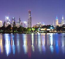 Melbourne by Night by Jonny McHugh