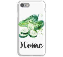 Cucumber. Home iPhone Case/Skin