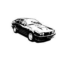 Alfa Romeo Alfetta Photographic Print