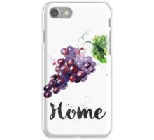 Grapes. Home iPhone Case/Skin