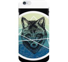 Geometric Fox Halo iPhone Case/Skin