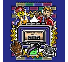Everything is Awesome Mix Vol. 1 Photographic Print