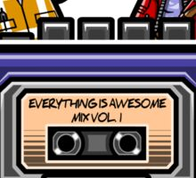 Everything is Awesome Mix Vol. 1 Sticker