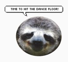 Sloth (time to hit the dance floor) Baby Tee
