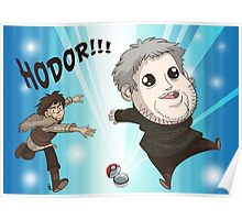 I Choose Hodor! Poster
