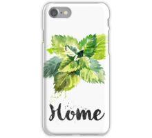 Mint. Home iPhone Case/Skin
