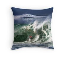 Andy Irons At 2009 Quiksilver in Memory of Eddie Aikau Contest Throw Pillow