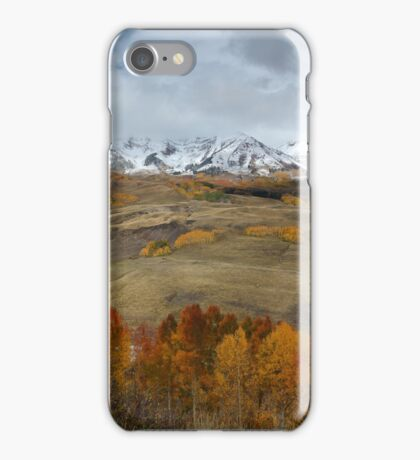 Colorado Fall Near Crested Butte iPhone Case/Skin