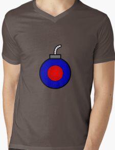 Power Bomb Mens V-Neck T-Shirt