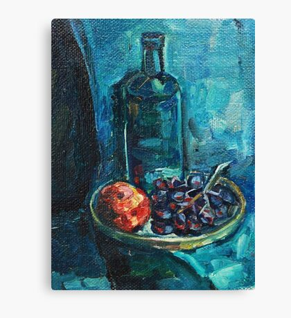 Still Life with Grapes Canvas Print