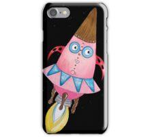 Princess Rocketship Flying T iPhone Case/Skin