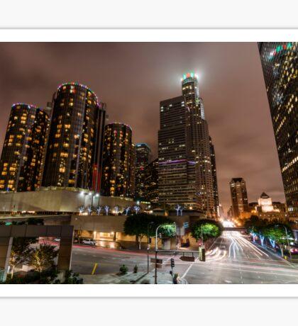 Night In The City Sticker