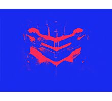 Dead Space - Isaac Clarke - Blue and Pink Photographic Print