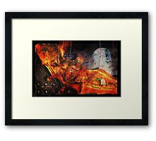 Going Batty In America Framed Print