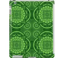 Green Mandala Pattern iPad Case/Skin