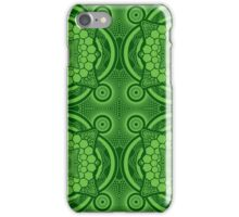 Green Mandala Pattern iPhone Case/Skin