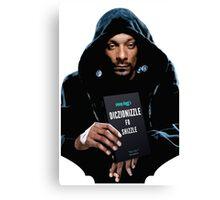 Snoop Dogg's Diczionizzle Fo Shizzle Canvas Print