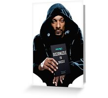 Snoop Dogg's Diczionizzle Fo Shizzle Greeting Card