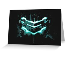 Dead Space - Isaac Clarke Greeting Card