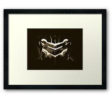 Dead Space - Isaac Clarke - Sepia Framed Print