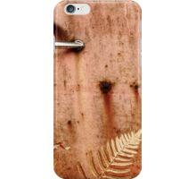 3.10.2014: Rusty Door and Plants iPhone Case/Skin