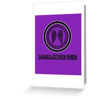 Superhero - Dreamweaver Greeting Card