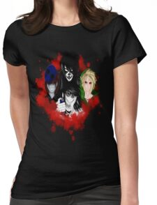 creepypasta 2 Womens Fitted T-Shirt