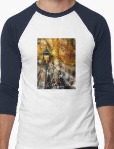 LampPost in Narnia Men's Baseball ¾ T-Shirt