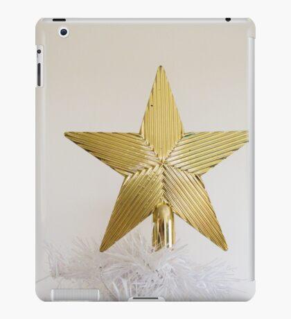 Gold Star Topper iPad Case/Skin