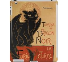 Le Dragon Noir iPad Case/Skin