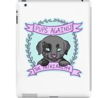 Pups against Patriarchy iPad Case/Skin