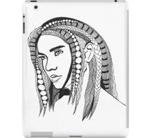 Girl With Tangled Hair iPad Case/Skin