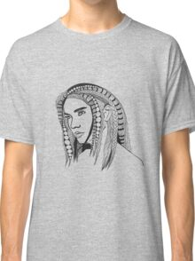 Girl With Tangled Hair Classic T-Shirt