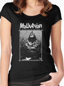 Retro Malkavian Women's Fitted Scoop T-Shirt