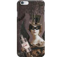 Winged Vampire Masquerade iPhone Case/Skin