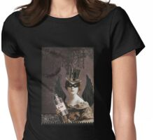 Winged Vampire Masquerade Womens Fitted T-Shirt