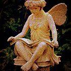 garden fairy by Laura Lea Comeau