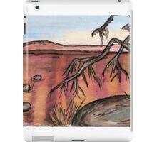 out back Australia  iPad Case/Skin