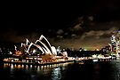 Opera House At Night by Evita