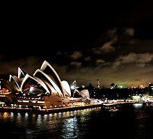 Opera House At Night by Evita