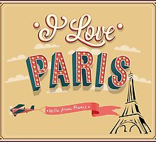 I LOVE PARIS..........! by Kricket-Kountry